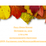 Meridian Montessori Fall Open House