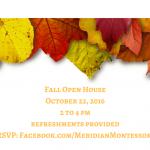 Meridian Montessori Fall Open House